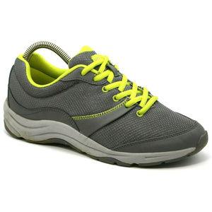 Vionic Womens Kona Orthopedic Gray Sneakers Sz 7.5